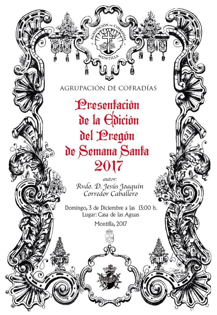 Presentación de la edición del Pregón de Semana Santa 2017