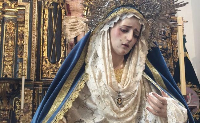 La Cofradía de la Vera Cruz conmemora la festividad de la Inmaculada Concepción